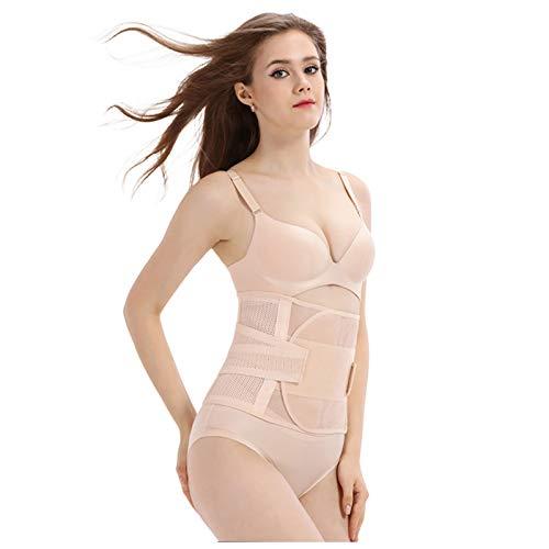 Pistazie 3 en 1 - Cinturón postparto, cinturón de recuperación post-parto, cinturón abdominal, cinturón lumbar transpirable y adelgazante para mujer después de embarazo maternidad
