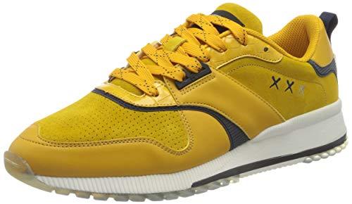 SCOTCH & SODA FOOTWEAR (SCPGH) Vivex, Zapatillas Hombre, Oro Amarillo, 42 EU