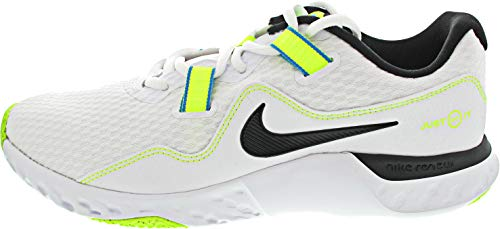 Nike Renew Retaliation TR 2, Zapatillas para Carreras de montaa Hombre, White Black Volt Lt Blue Fury, 44.5 EU