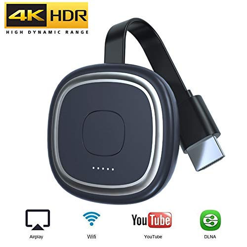 Wifi Display Dongle, 4K Wireless Display Receiver, Plug and Play HD HDMI Screen Mirroring Display, Ondersteuning Airplay DLNA
