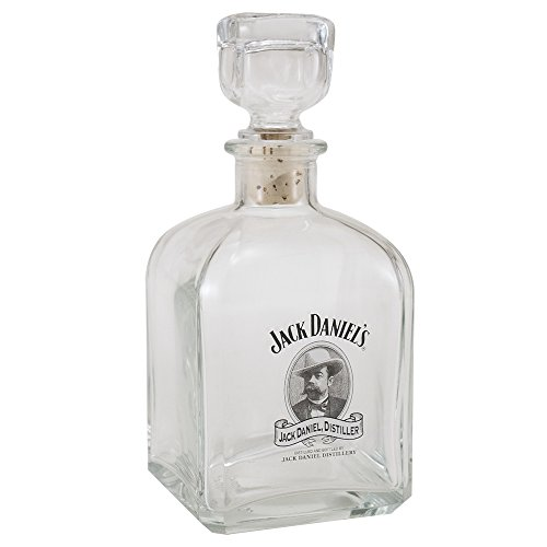 Jack Daniel's Licensed - Decanter con logo Cameo