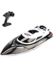 HJ806 2.4GHz Super High Speed Fast Ship RC Racing Boat Yacht Toy for Kids Beginners