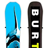 StoreYourBoard Soporte de exhibición de Snowboard Flotante Cinch, Almacenamiento de Pared, Paquete de 2