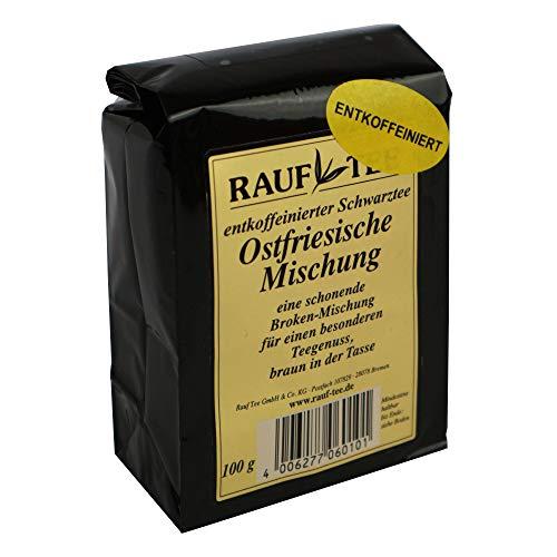 Rauf Tee - schwarzer Tee-Ostf. Mischung entkoffeiniert- 2 x 100g