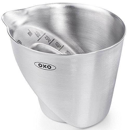 OXO - Coudée à mesurer en Acier - Couleur argentée