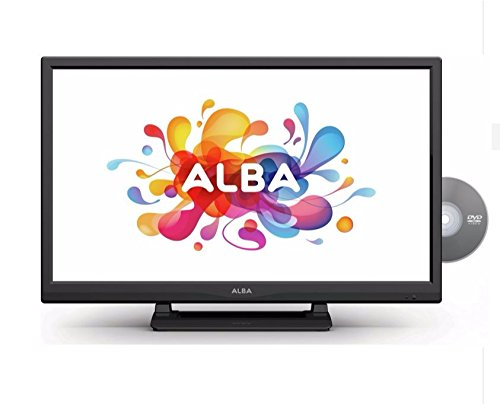 Alba 24 Inch HD Ready LED TV/DVD Combi with Freeview - Black
