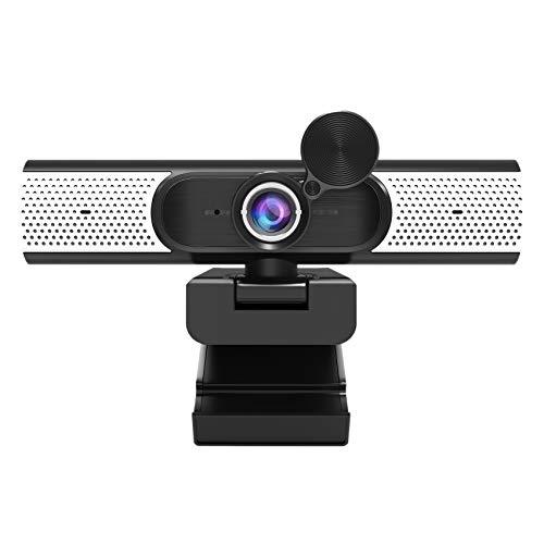 Cobeky Cámara USB clase Webcam1080p 2 millones de red HD de transmisión en vivo cámara de ordenador altavoz integrado función de visión nocturna