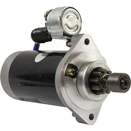 New   Starter Compatible with/Replacement for Kohler Engines Air Cooled 10HP 12HP 8HP/63-098-01-S/Kohler Command Pro CS8.5, CS10, CS12 8-12HP /12 Volt, CCW - DB Electrical SND0223