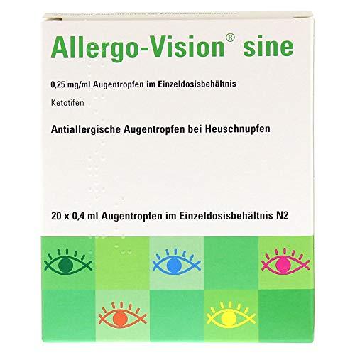 ALLERGO-VISION sine 0,25 mg/ml AT im Einzeldo.beh. 20X0.4 ml