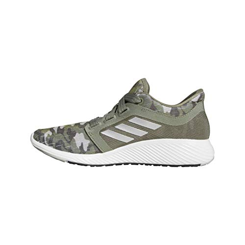 adidas Women's Edge Lux 3 Running Shoe, Legacy Green/Silver Metallic/Grey, 4.5 M US