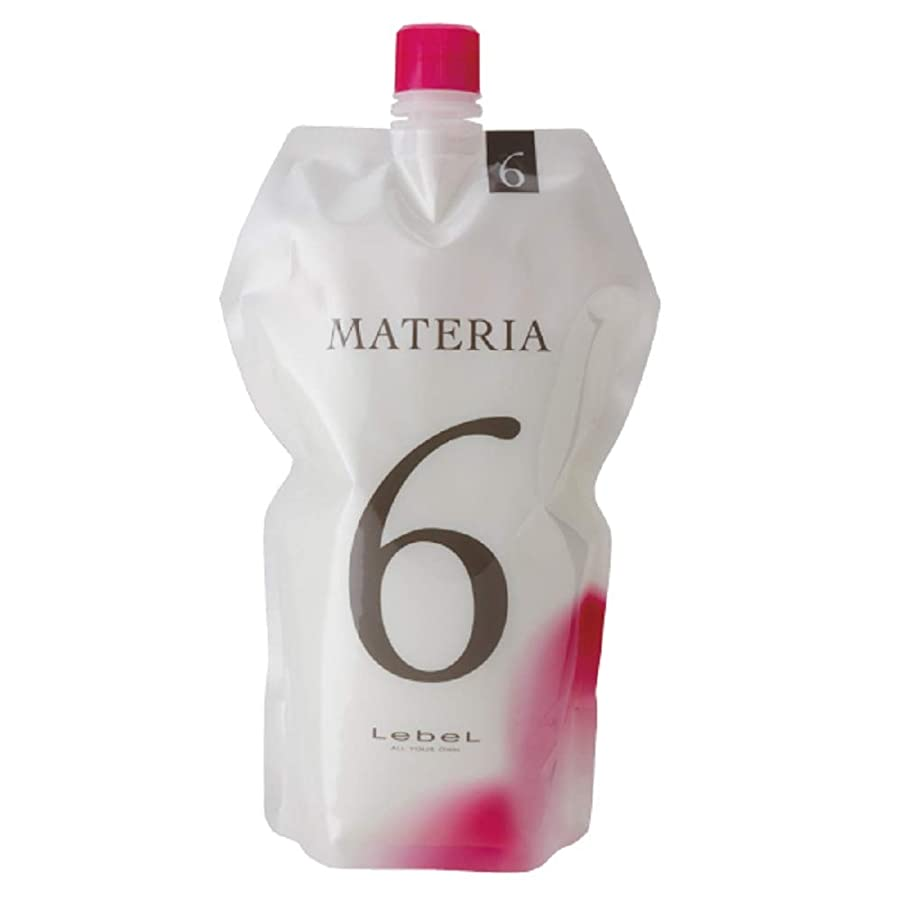 言い訳アウターボルトルベル マテリア オキシW 1000ml 6% 【ヘアカラー2剤】【業務用】【医薬部外品】