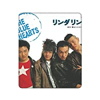 The Blue Hearts ザ·ブルーハーツ マウスパッド 25x30x0.3cm ゲーミングマウスパッド 防水 防塵 滑り止め 水洗い 耐久性良い オフィス/サイバーカフェなど適用