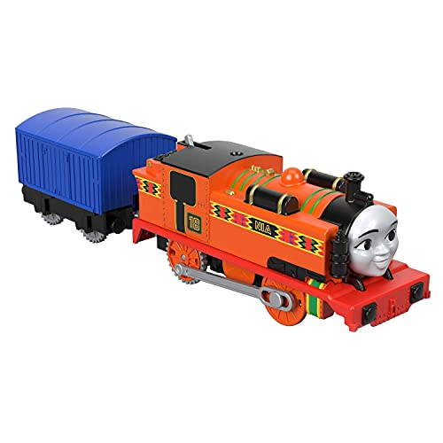 Thomas & Friends TrackMaster, Nia, Motorized Toy Train Engines for Preschool Kids Ages 3 Years and Older
