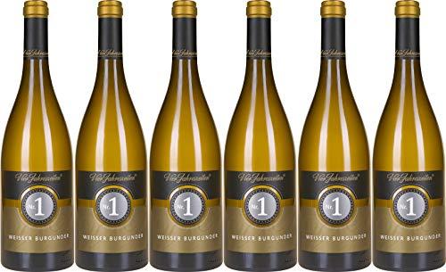 Vier Jahreszeiten Nr. 1 Premium-Weißburgunder Spätlese 2019 Trocken (6 x 0.75 l)