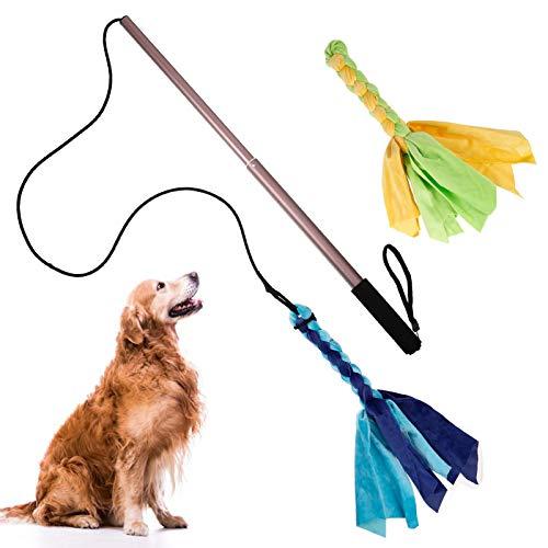 QINREN Hundespielzeug Ausziehbare Interaktive Hundespielzeug für Kleine und Große Hunde Katze