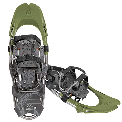 WildHorn Outfitters Delano Snowshoes for Women and Men. Lightweight Adjustable Binding All-Terrain TPU Cold Resistant Aluminum Frame Snow Shoes,...