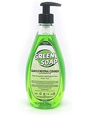 Tattoo Inkt GREEN ZEEP - Zachte neutrale zeep (500ml) VIKING INK USA, beste kleur en zwarte inkt origineel VEGAN