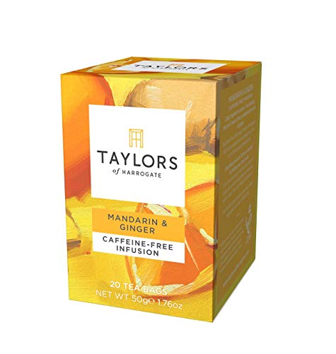 Taylors of Harrogate Mandarin & Ginger Infusion, 20 Teabags