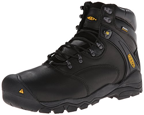 KEEN Utility Men's Lousiville 6' Steel Toe Waterproof Work Boot