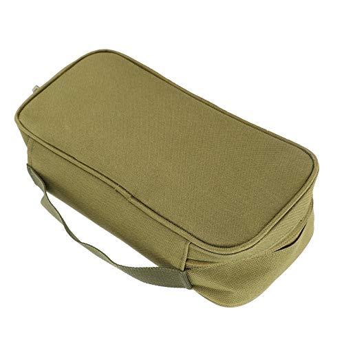Bolsa de Herramientas para Exteriores, Bolsa de Almacenamiento Liviana con Bolsa de Almacenamiento para Acampar al Aire Libre, mochilero, Pesca y Caza