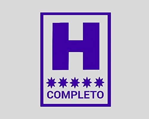 HOTEL COMPLETO .- LILA BRILLO -. 14x19cms. ( MOLB3693.A )
