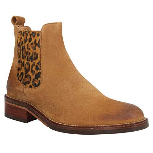 Schmoove Boots élastique à la Cheville Candide Chelsea K.Suede/KASAMA Cognac