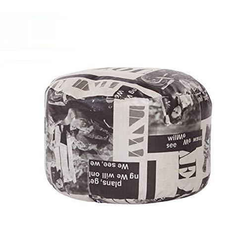 AINIYF Sofa Sack - Chaise de Sac de Haricots en Peluche/Ultra Douce/Mousse de mémoire Chaise avec Housse et Banc de Chaussure Home Wear - Mobilier rembourré et Accessoires remplis de Mousse pour l