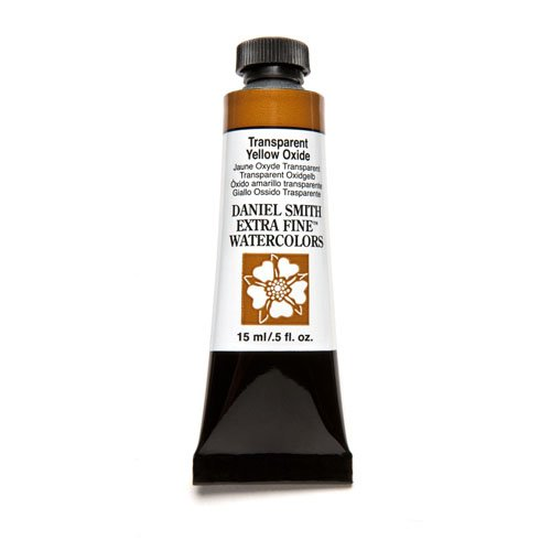 DANIEL SMITH Extra Fine Watercolor Paint, 15ml Tube, Transparent Yellow Oxide, 284600131