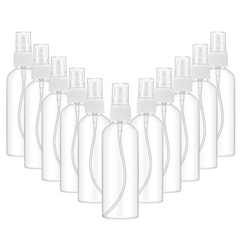 ZITFRI 10 Piezas Recipientes de Aerosol Vacíos de 100 ml, Botes Vacios para Rellenar Gel, Bote Dosificador, Botellas de Viaje para Cosméticos, Perfumes, Desinfectantes, Irrigación