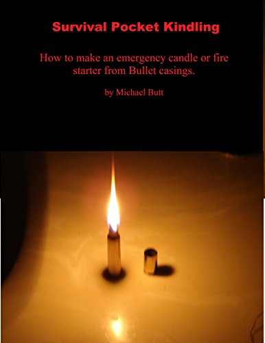 Survival Pocket Kindling: How to make an emergency candle and fire starter out of bullet casings
