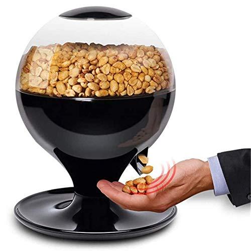 xxz Máquina de Dulces activada por Movimiento, Mini dispensador automático de bocadillos de Dulces sin Contacto, Manos Libres, fácil llenado, con Pilas, para chicles, nueces, bocadillos