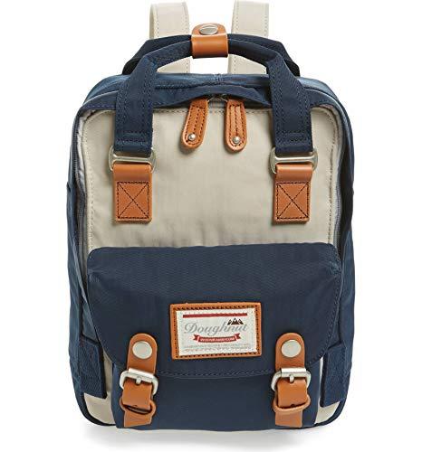 Doughnut Macaroon Mini Backpack Ivory/Navy One Size