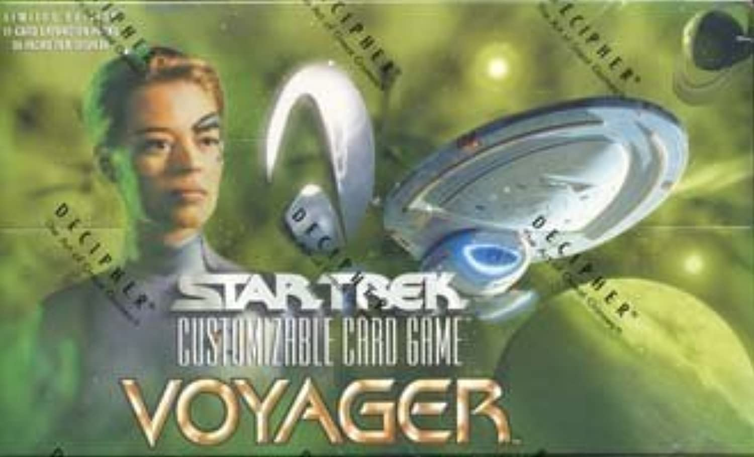 Star Trek CCG  Voyager Booster Box by Decipher