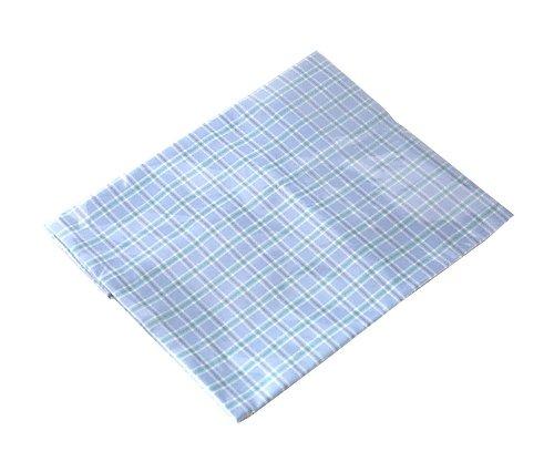 ナビス ビーズパッド 枕型用 交換カバー 枕型用カバー(ブルー) (アズワン(As-one)) (クッション・ビーズパッド)