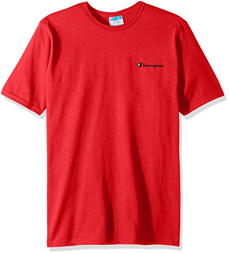 Champion Men's Heritage Tee, Team Red Scarlet, Small