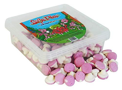 CAPTAIN PLAY Süße Pilze, Schaumzucker Pilze Party Box, 500g