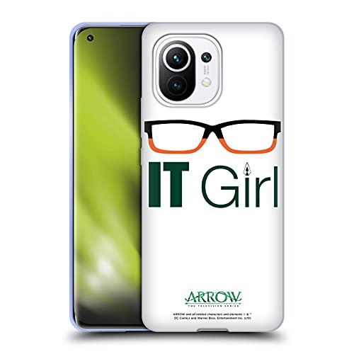Head Case Designs Licenciado Oficialmente Arrow TV Series Felicity Smoak IT Chica Gráficos Carcasa de Gel de Silicona Compatible con Xiaomi Mi 11