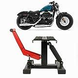 Elevador moto,Plataforma elevadora para motocicleta,Elevador moto Soporte elevación Plataforma,Soporte de montaje,Herramienta de reparación,Soporte de montaje,Elevador de motocross de 150 kg