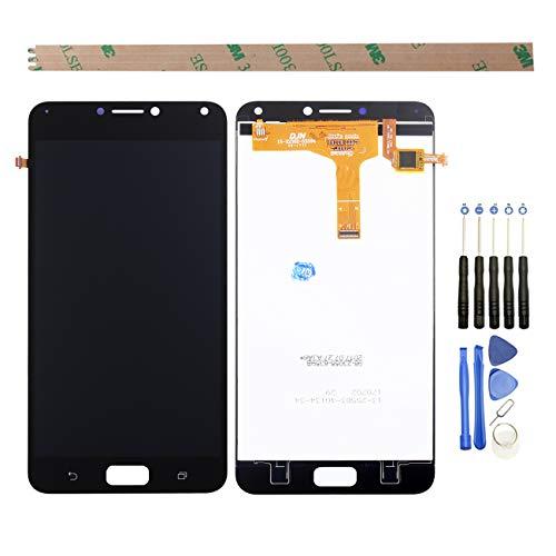 YHX-O para Pantalla LCD de 5,5 Pulgadas ASUS Zenfone 4 MAX ZC554KL de reparación y sustitución + digitalizador táctil con Herramientas Incluidas