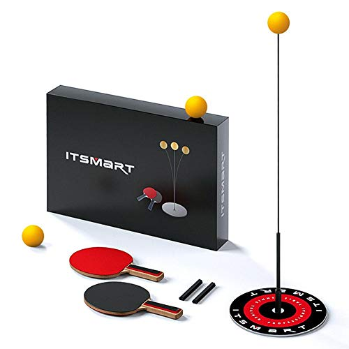 Buy Bargain etateta Table Tennis Trainer with Elastic Soft Shaft, Portable Table Tennis Set, Leisure...