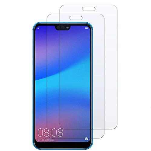 3 piezas Vidrio templado, para Huawei Honor 10i 8A 10 Lite 8C 8X Play P20 P30 Pro P Smart 2019 Protector de pantalla de película protectora-Para Huawei P30