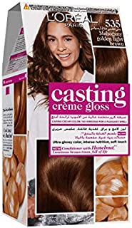 L'Oreal Paris Casting Crème Gloss 535 Mahagony Golden Light Brown