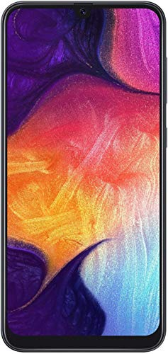 Samsung Galaxy A50 A505G 64GB Duos GSM Unlocked Phone w/Triple 25MP Camera - (International Version, No Warranty) - Black