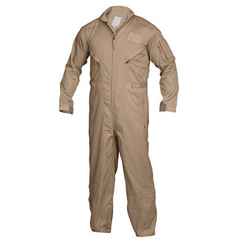 Tru-Spec 2662005 27-P Basic Flight Suit, Large Regular, Brown