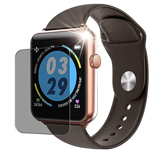 Vaxson Anti Spy Schutzfolie, kompatibel mit ELEPHONE W6 Smartwatch smart watch, Displayschutzfolie Privatsphäre Schützen [nicht Panzerglas]