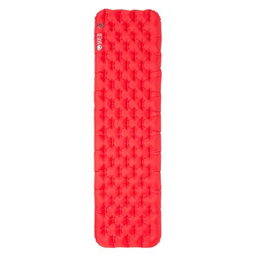 Big Agnes Unisex Isolierte AXL Schlafunterlagen, rot, reguläre Passform