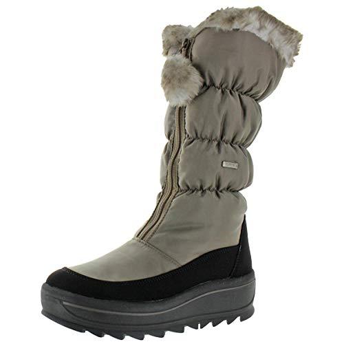 Pajar Womens Toboggan 2.0 Nylon Waterproof Snow Boots Taupe EU 38 EU/7-7.5 US