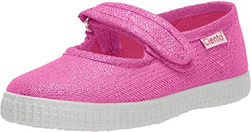 Cienta girls Shoe Mary Jane Flat, Fuchsia, 9.5 Toddler US