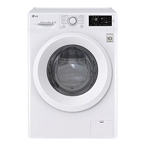 LG F 14 WM 8ln0 Independent Front Loading 8 kg 1400RPM A + + + -30% White – Washing Machine (Freestanding, Front Loading, White, Rotary, Touch, White, 8 kg)