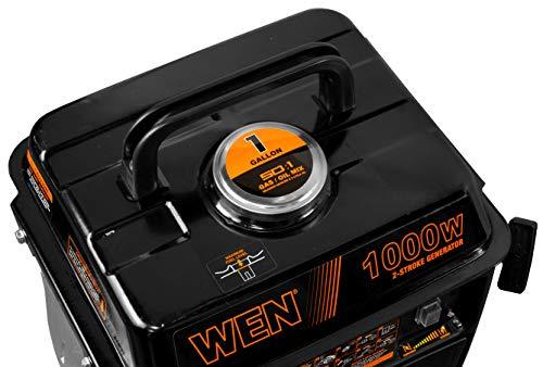WEN 56105 1000-Watt Portable Generator, CARB Compliant, 1,000 Watts